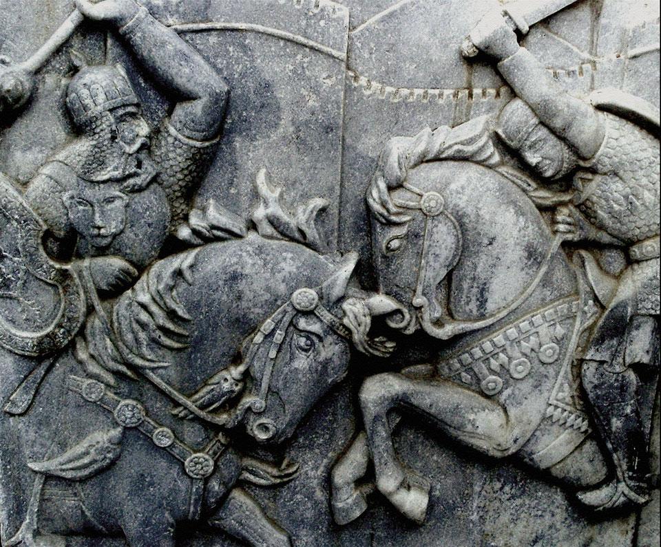 война между персией и арменией